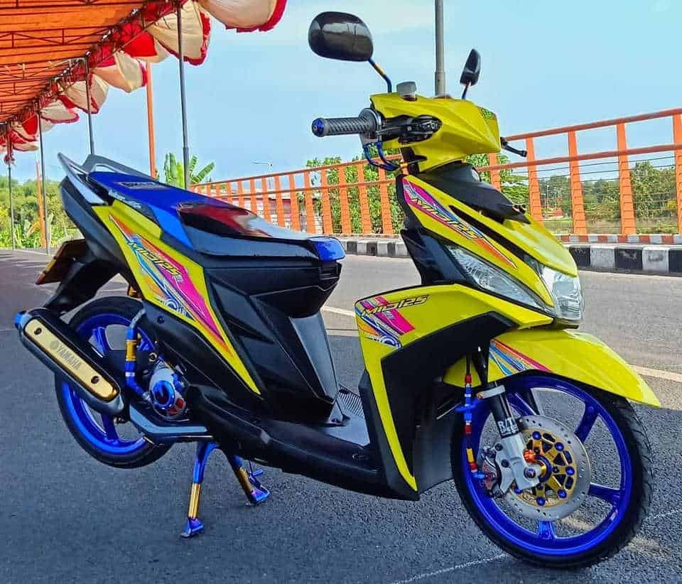 Modifikasi Motor Mio Terbaik : Sporty Drag Thailook - mio babylook simple